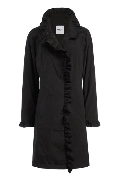 Ruffled Travel Coat