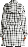 Vichy Check Trench Coat