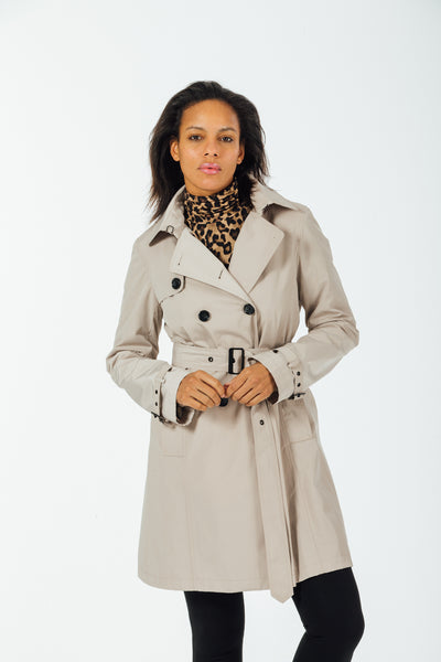 Downtown Trench with detachable wool liner