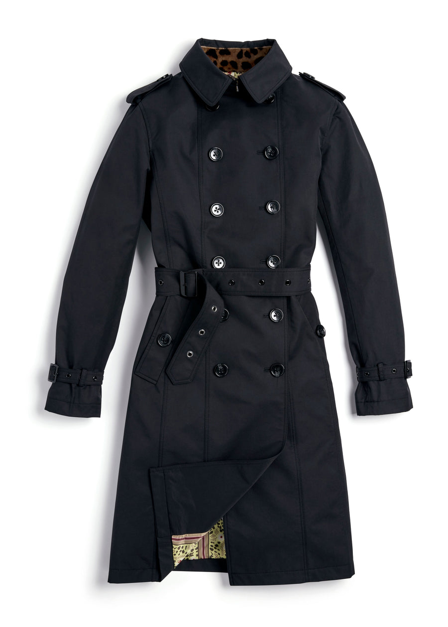All-season trench coat
