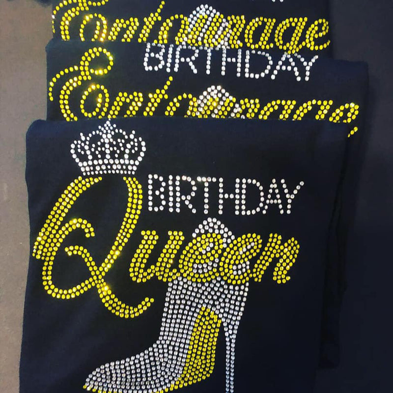 BIRTHDAY QUEEN TEES