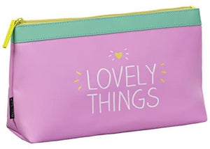 """Lovely things"" Wash Bag"