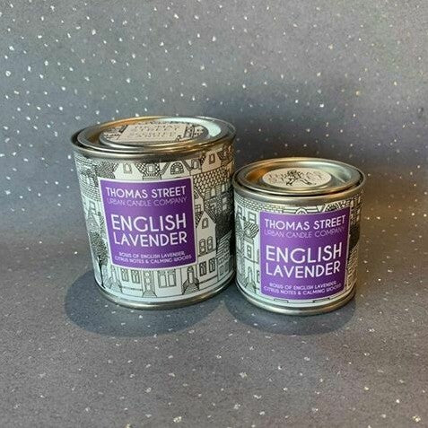 Thomas Street Lavender Candle Tin