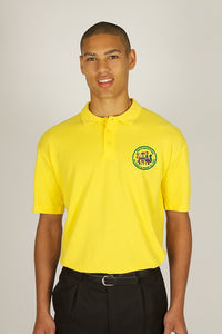East Hunsbury Yellow Poloshirt