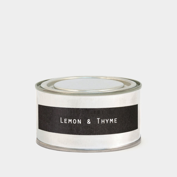 Tin Candle in Lemon and Thyme