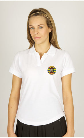 Blisworth White Poloshirt