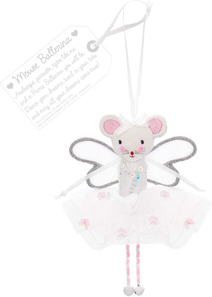 Believe You Can Fair Trade Fairies - Mouse Ballerina
