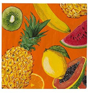 Tropical Fiesta Fruity Napkins