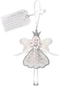 Believe You Can Fair Trade Fairies - Snow Queen Fairy