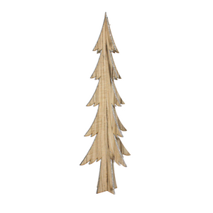 3D Wooden Christmas Tree with Glitter