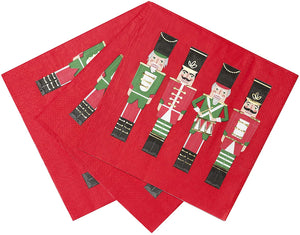 Nutcracker Soldier Paper Napkins