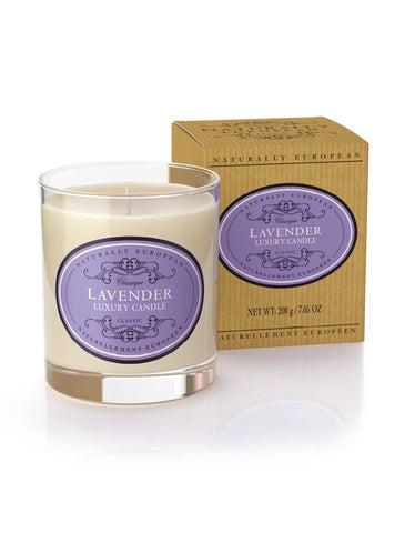 Naturally European Lavender Scented Candle