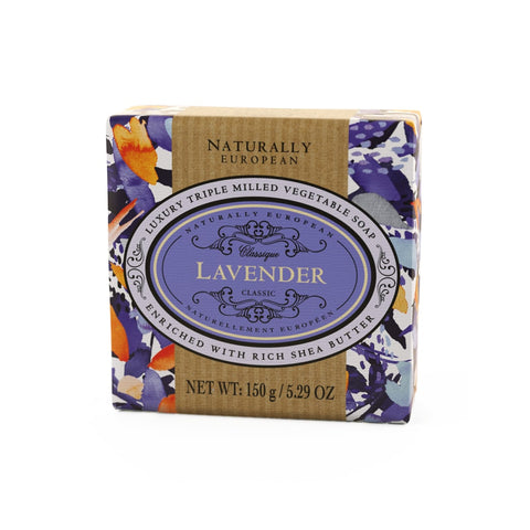Naturally European Lavender Soap Bar