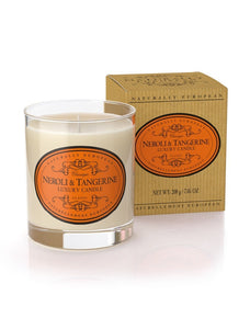 Naturally European Neroli & Tangerine Scented Candle