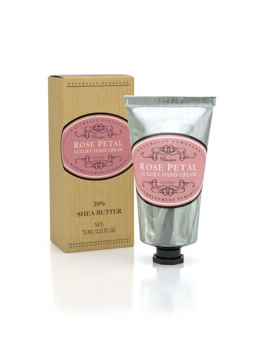 Naturally European Rose petal Hand Cream