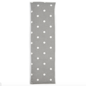Cotton Dotty Grey Wheat Bag