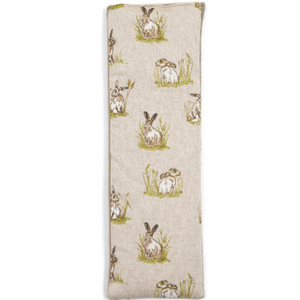 Dual Sided Lavender Wheat Bag in Hartley Hare