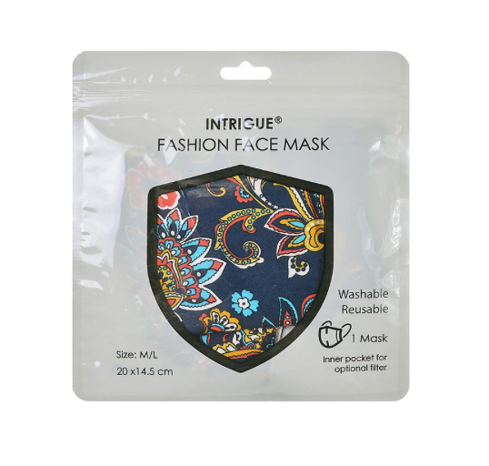 Ethnic Floral Face Mask