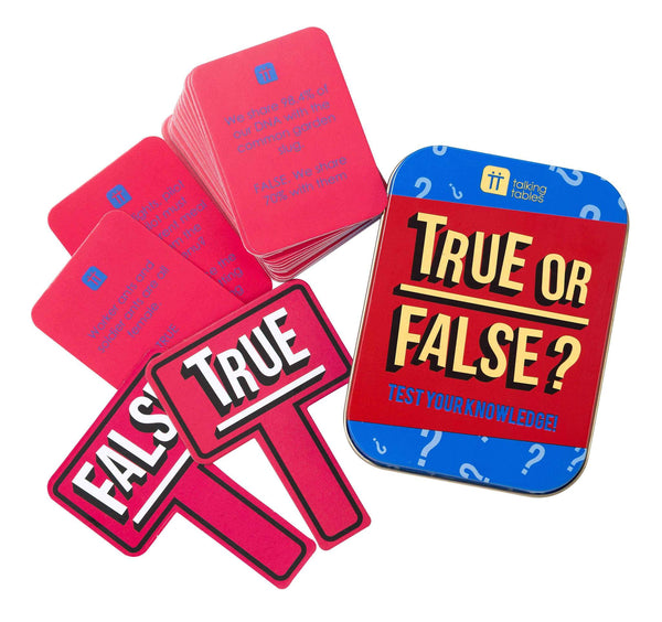 True or False Card Game