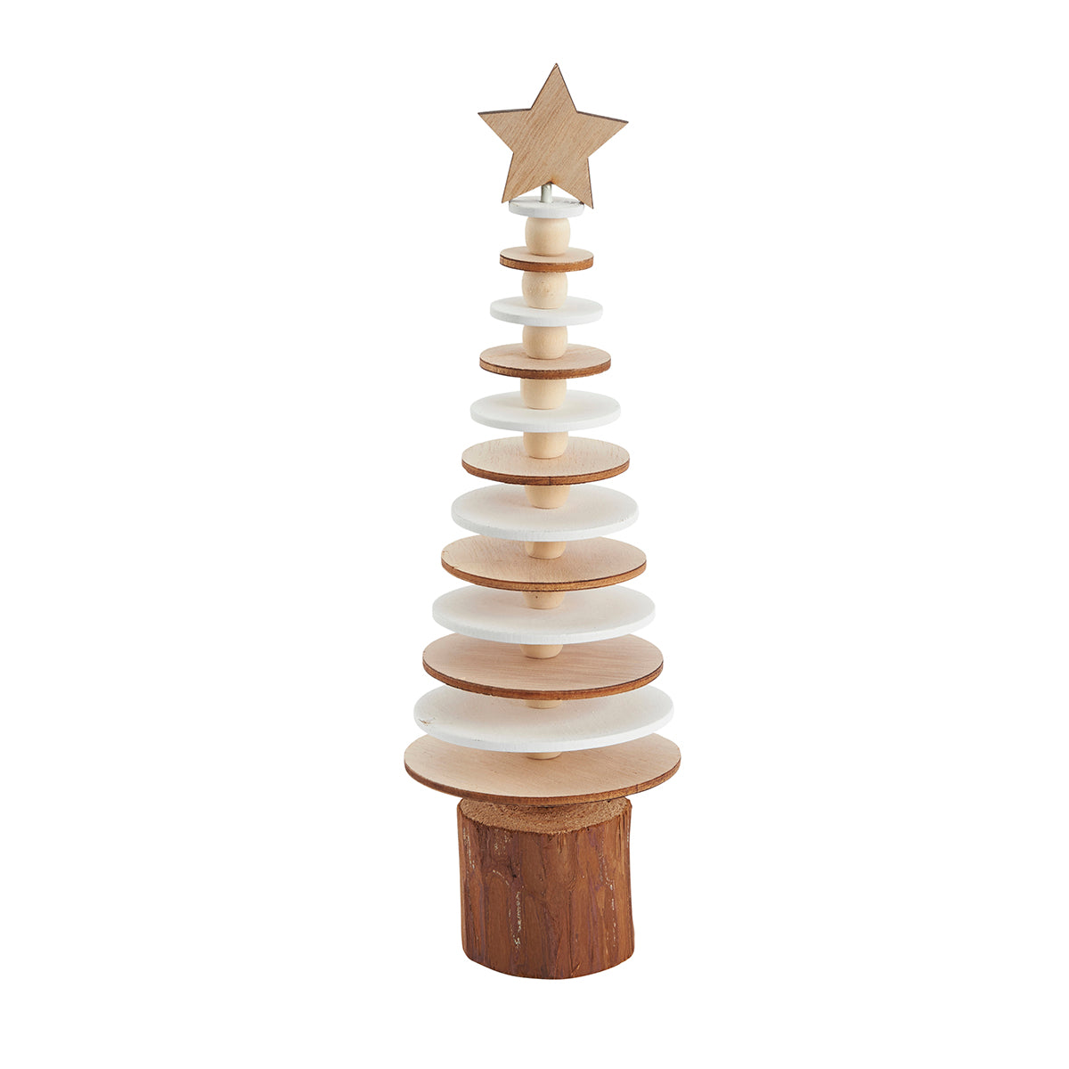 Small wooden layer tree
