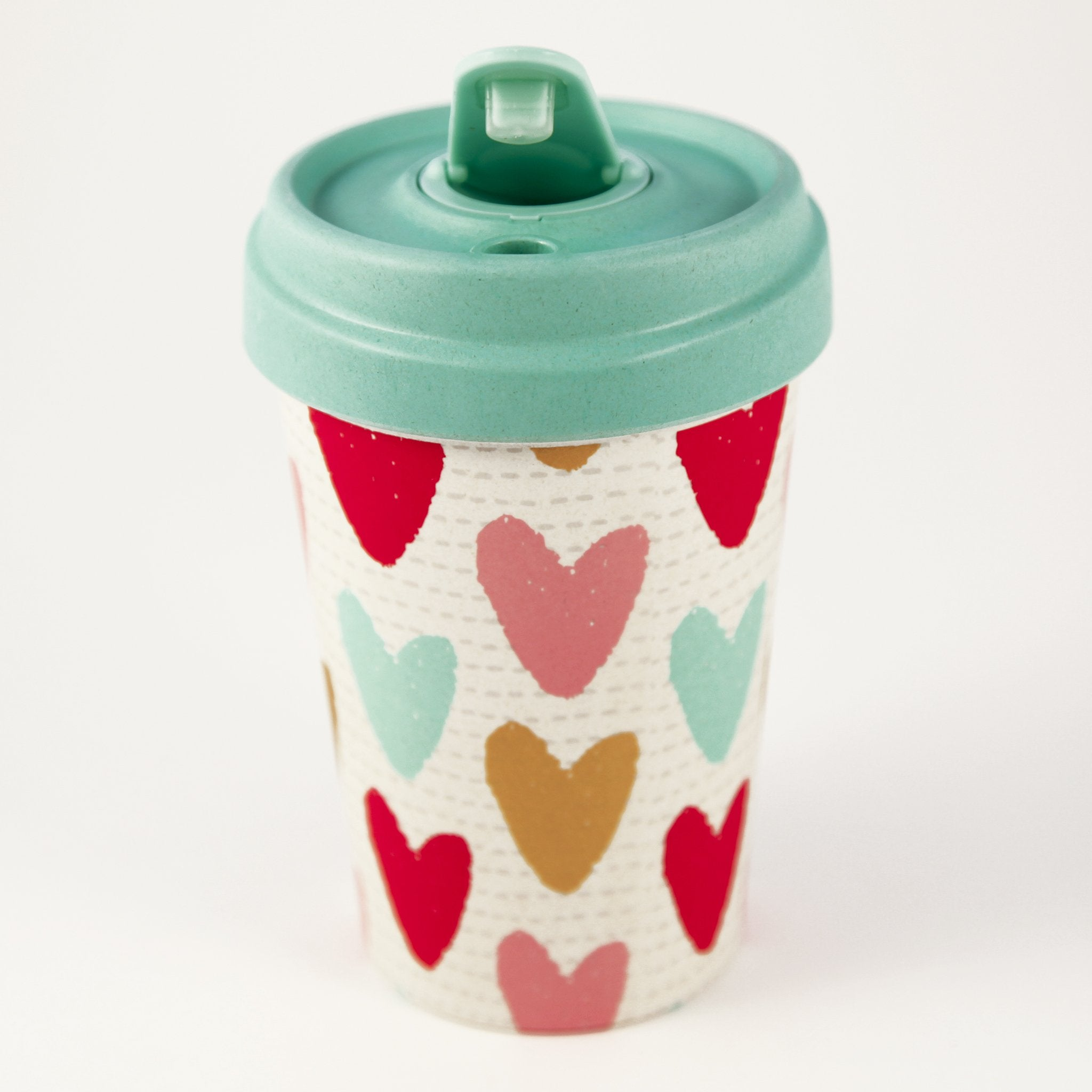 Happy Hearts Bamboo Cup