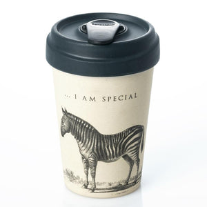 Special Zebra Bamboo Cup