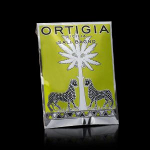 Ortigia Lime di Sicilia Bath Salts Envelope