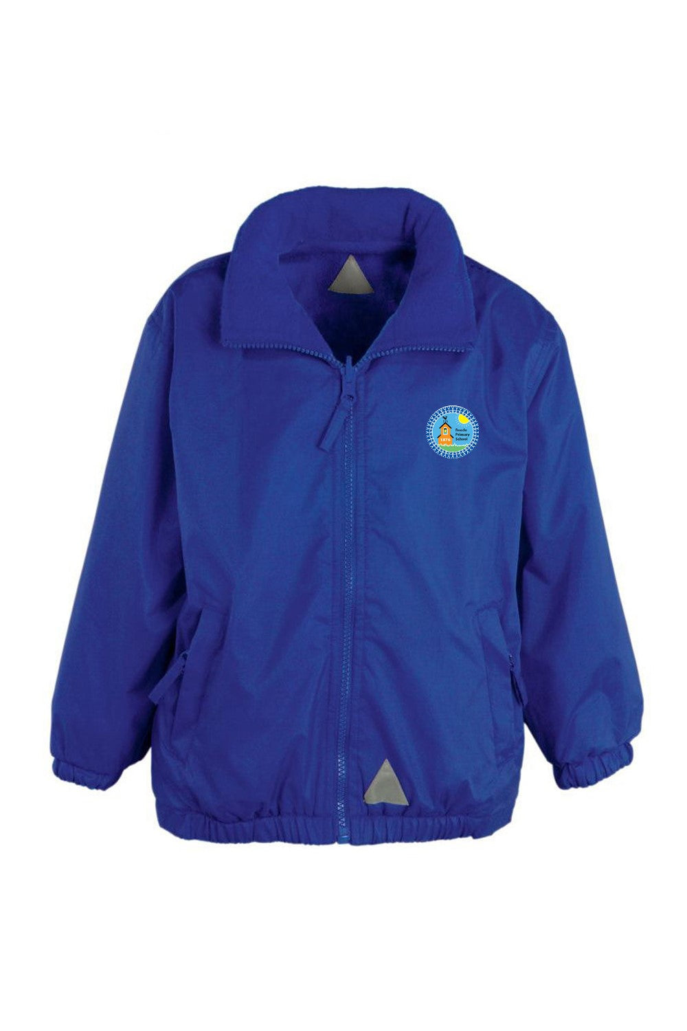 Roade showerproof reversible fleece jacket