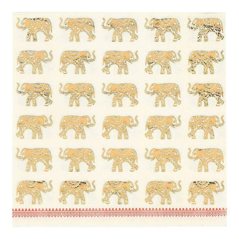 Elephant Gathering Napkin