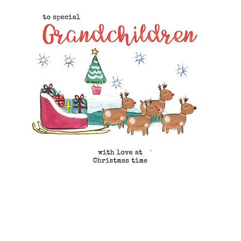 Grandchildren Christmas Card