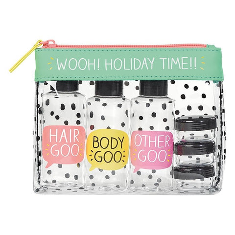Happy Jackson Travel Essentials Toiletry Pouch