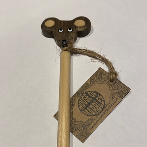 Wooden mouse pencil
