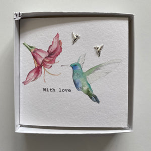 Birds earring set