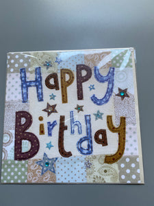 Ex large birthday card
