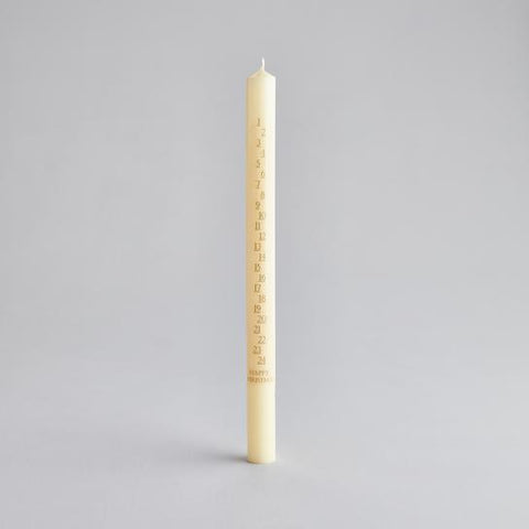Ivory Advent Candle