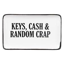Keys, Cash & Random Crap Dish