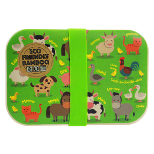 Kids Eco Friendly Bamboo Lunchbox
