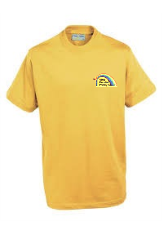 Milton Yellow P E T-Shirt