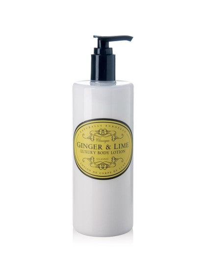 Naturally European Body Lotion Ginger & Lime