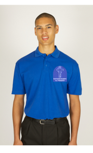 Rothersthorpe Blue Polo Shirt