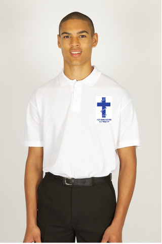 Rothersthorpe White Polo Shirt