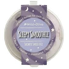 Sleepy Smoothie shower smoothie
