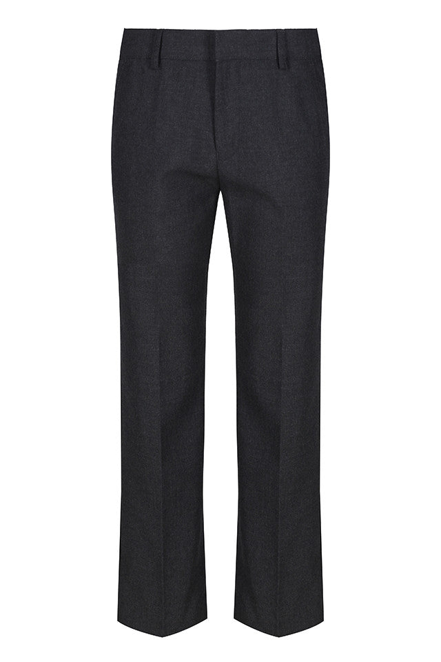 Junior boys slim fit trouser (Grey)