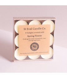 Spring flower Scented Tealights