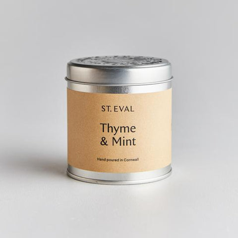 Thyme & Mint Candle Tin