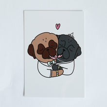 Married Pugs Card - A6
