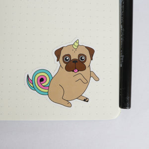Unipug Sticker - Fawn
