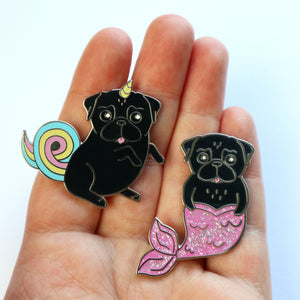Black Pin Set - Unipug + Merpug
