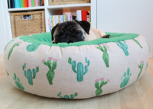 Cacti Fabric - Round Bed