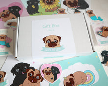 Gift Box Crazy Pug Lady - Fawn